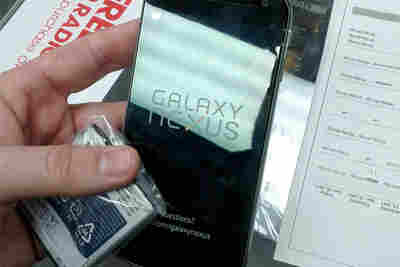 My first look at a Samsung Galaxy Nexus