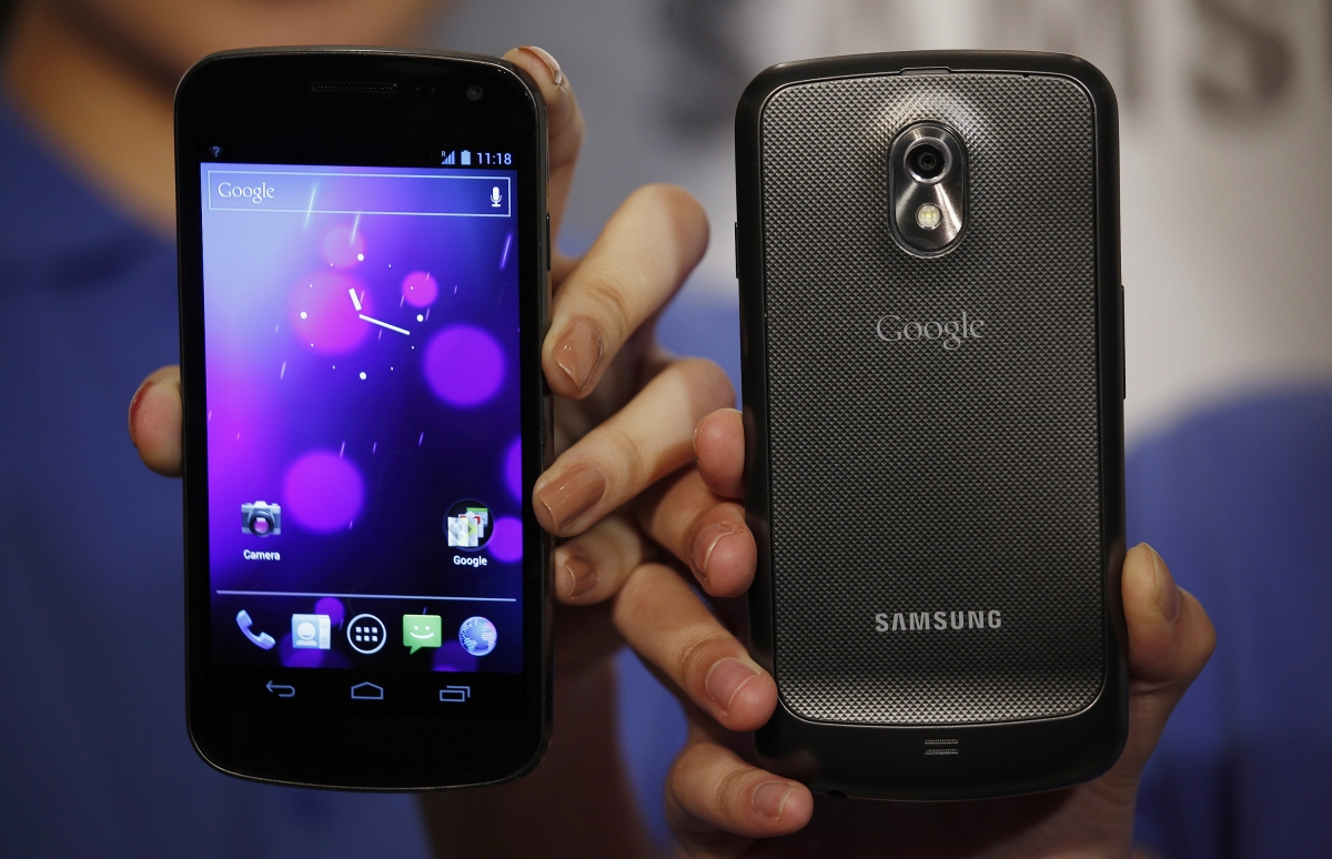 Galaxy Nexus front and back